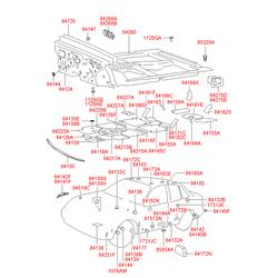 Заглушка кузова (Hyundai-KIA) 841813L000