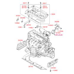Защита двигателя (Hyundai-KIA) 291301E000