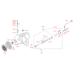 Корзина сцепления (Hyundai-KIA) 4130028036