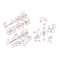 Подшипник роликовый (Hyundai-KIA) 4322028050
