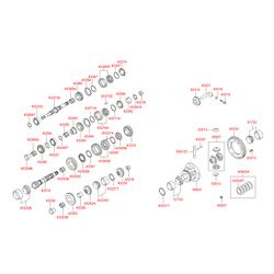Подшипник роликовый (Hyundai-KIA) 4325334160