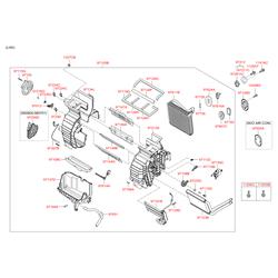 Резистор отопителя 15вт (Hyundai-KIA) 970351E100