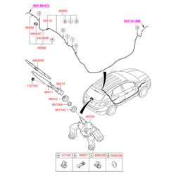 Штуцер прокачки тормозной (Hyundai-KIA) 9888629000