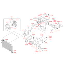 Вентилятор радиатора двигателя (Hyundai-KIA) 9773717000