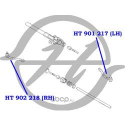 Наконечник рулевой тяги, правый (Hanse) HT902218