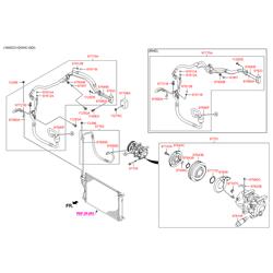Компрессор кондиционера (Hyundai-KIA) 977012Y050