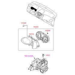 Панель приборов в сборе (Hyundai-KIA) 940072Y480