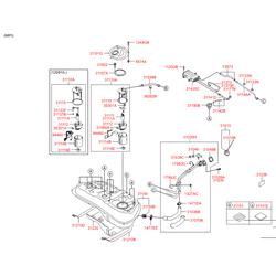 Топливный насос в сборе (Hyundai-KIA) 311102Y000