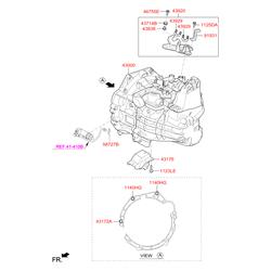 Трансмиссия в сборе МКП (Hyundai-KIA) 430003D300