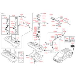 Шланг топливной системы (Hyundai-KIA) 310362Y100