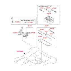 Механический домкрат (Hyundai-KIA) 091102Y000