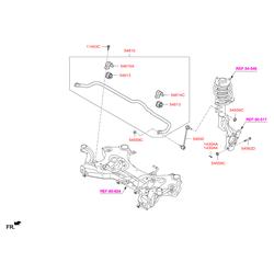 Стойка стабилизатора (Hyundai-KIA) 54830D7000