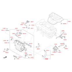 Обратный клапан системы рециркуляции выхлопных газов (Hyundai-KIA) 283242B000