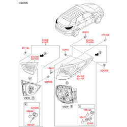 Гайка металлическая (Hyundai-KIA) 9245523000
