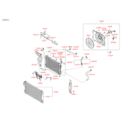 Патрубок резиновый (Hyundai-KIA) 254122E100