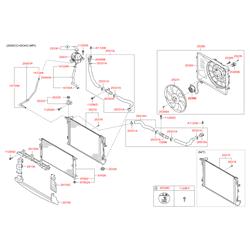 Радиатор в сборе (Hyundai-KIA) 25310D7650