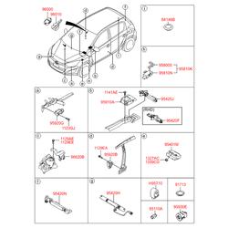 Звуковой сигнал (Hyundai-KIA) 957103K100