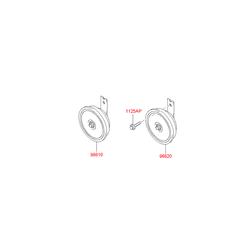 Звуковой сигнал (Hyundai-KIA) 966102E000