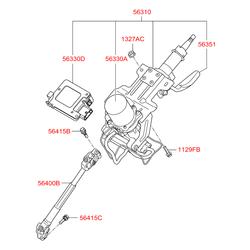 Рулевая колонка (Hyundai-KIA) 563102S811