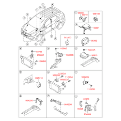 Блок реле 2.5А (Hyundai-KIA) 919402S051