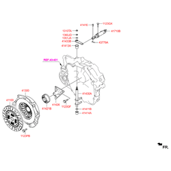 Диск сцепления (Hyundai-KIA) 4110039295