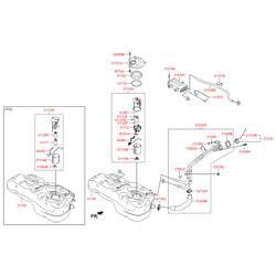 Бак топливный (Hyundai-KIA) 311502S130