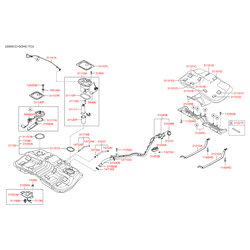 Бак топливный (Hyundai-KIA) 311502E000