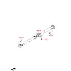 Карданный вал (Hyundai-KIA) 493002S500