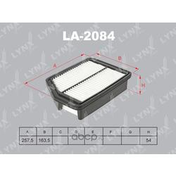 Фильтр воздушный (LYNXauto) LA2084