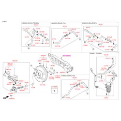 Датчик уровня тормозной жидкости (Hyundai-KIA) 58535A5000