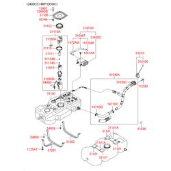 Термостат (Hyundai-KIA) 319244H000
