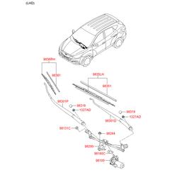 Гайка М6 (Hyundai-KIA) 981364D000