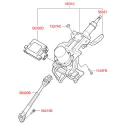 Элемент (Hyundai-KIA) 563102S500
