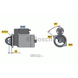 Стартер (Bosch) 0001138017