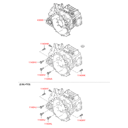 КПП (Hyundai-KIA) 4300039954