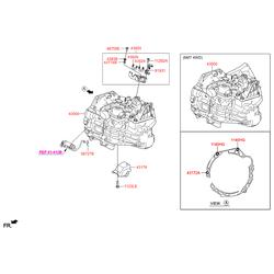 КПП (Hyundai-KIA) 430003D170