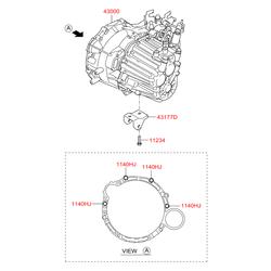 КПП (Hyundai-KIA) 4300024720