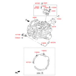 КПП (Hyundai-KIA) 430003D180