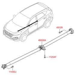 Деталь (Hyundai-KIA) 49300D3000