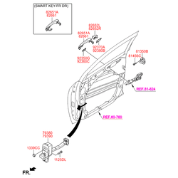 Деталь (Hyundai-KIA) 82651D7000