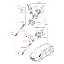 Деталь (Hyundai-KIA) 56310D7100