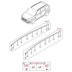 Деталь (Hyundai-KIA) 87211D7000