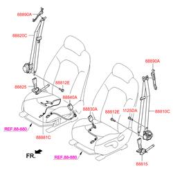 Деталь (Hyundai-KIA) 88810D7000TTX