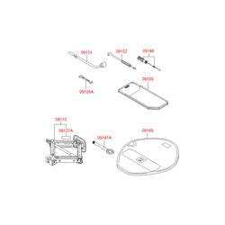 Буксировочный крюк (Hyundai-Kia) 091451E000
