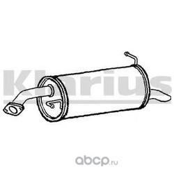Глушитель выхлопных газов конечный (KLARIUS) 210810