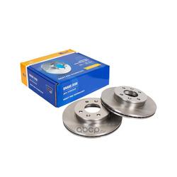 Диск тормозной передний (без ABS) (Kraft) KT016022