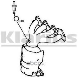 Катализатор (KLARIUS) 322280
