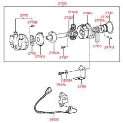 Кольцо резиновое (Hyundai-Kia) 2716122000