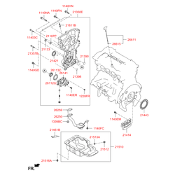 Кольцо резиновое (Hyundai-Kia) 266152B000