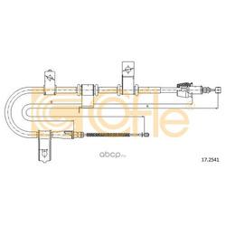 Трос стояночного тормоза правый задний (Cofle) 172541